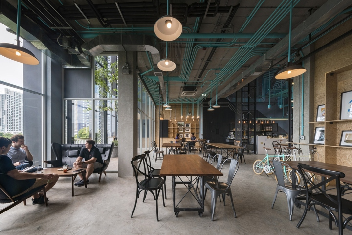 Hubba To Co Working Space By Supermachine Studio Bangkok