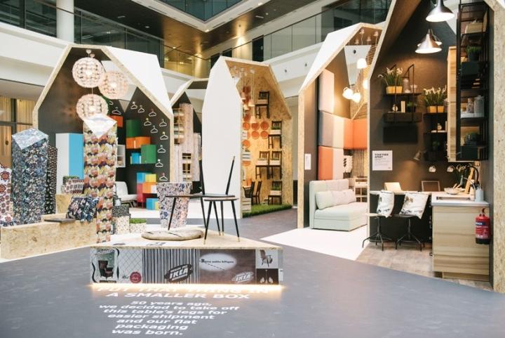 Ikea pavilion at dubai design week dubai united arab for Affordable furniture uae