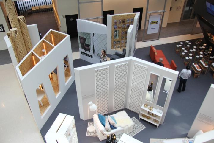 Ikea Home Decor Dubai: IKEA Pavilion At Dubai Design Week, Dubai