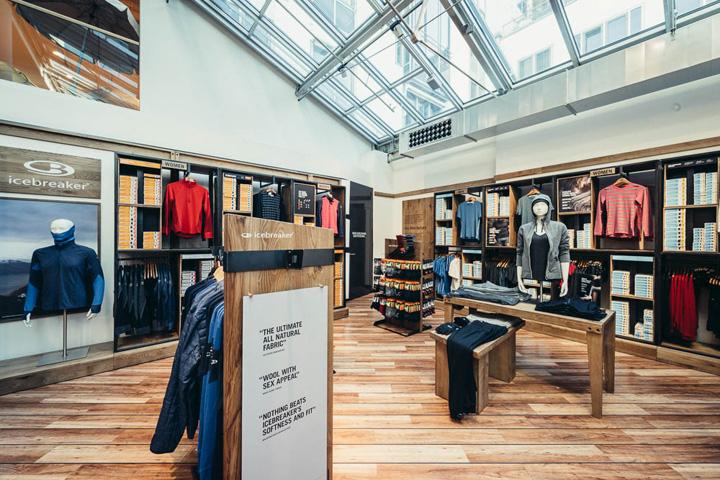 Icebreaker shop in shop by double retail munich germany for Design shop deutschland