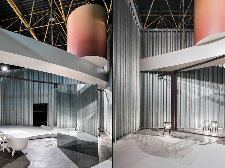 Installation by office KGDVS for Biennale Interieur 2016, Kortrijk ...