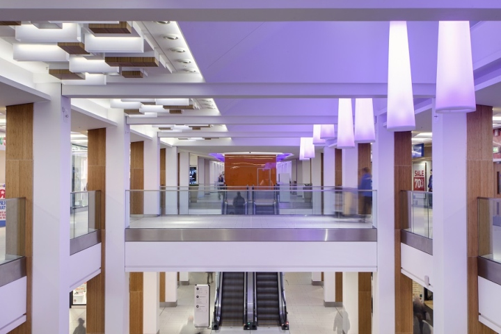 The £40 million re-model and refresh of intu Victoria Centre in Nottingham included a full upgrade with the aim of transforming the Centreu0027s tired ... & Intu Victoria Centre lighting by Hoare Lea Lighting Nottingham u2013 UK