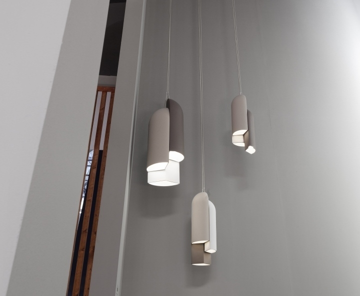 The Ireland l&u0027s three independent shades slide over each other making it possible to generate different proportions and volumes with a single l&. & Irelandu201d ceramic lamp by B.Lux » Retail Design Blog azcodes.com