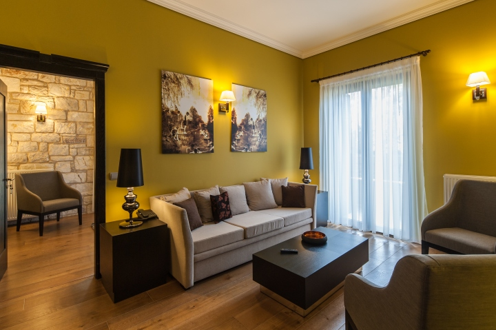 Levidi suites by dip architects levidi greece retail for Living room icd 10