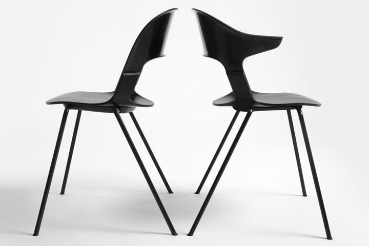 » Modular chair for Fritz Hansen by Benjamin Hubert