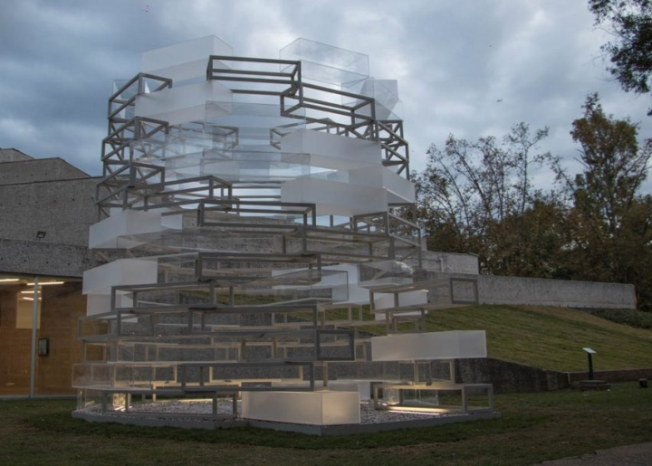 Museum of Immortality installation by Nikolaus Hirsch and Michel Müller In Mexico