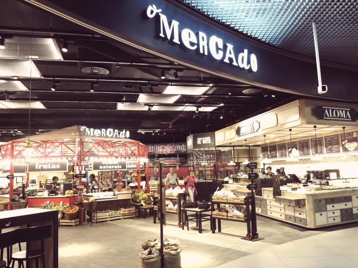 O mercado restaurant food court by gac3000 lisbon portugal designed by gac3000 sciox Gallery