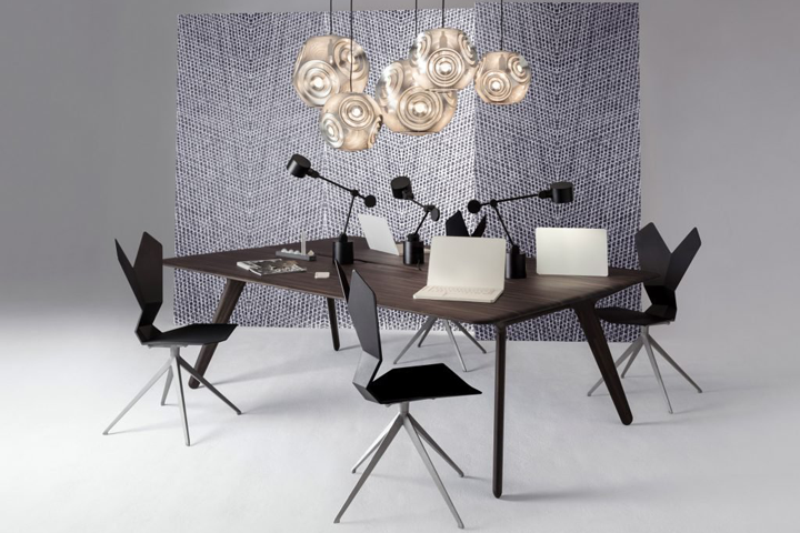 office furniture collection. Wonderful Office British Designer Tom Dixon Has Launched His First Collection Of Office  Furniture Which Includes A Minimalist Lamp And Workstation Based On Archetypical  Throughout Office Furniture Collection