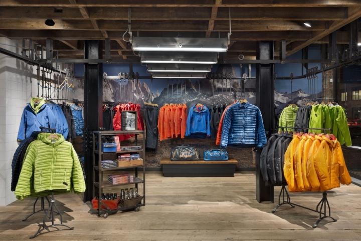 纽约巴塔哥尼亚服装店设计