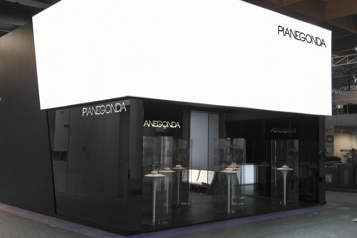 Pianegonda Stand At VIcenzaOro By Bros Retail Interior Design Vicenza Italy