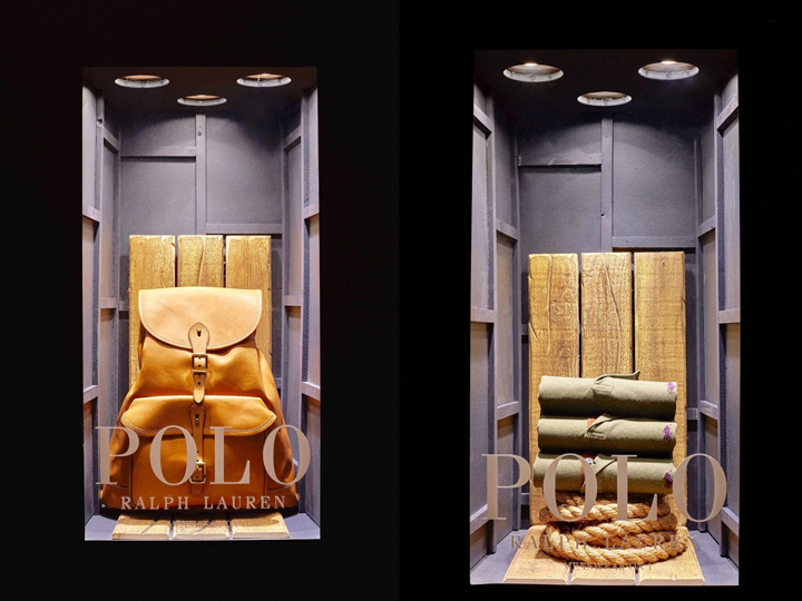 330b2ad121 Ralph Lauren POLO windows at Selfridges by Harlequin Design
