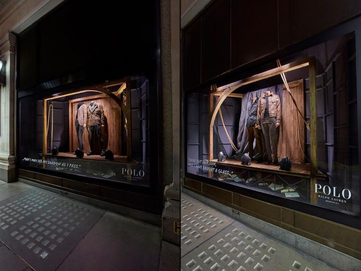» Ralph Lauren POLO windows at Selfridges by Harlequin Design fd96537dd205b