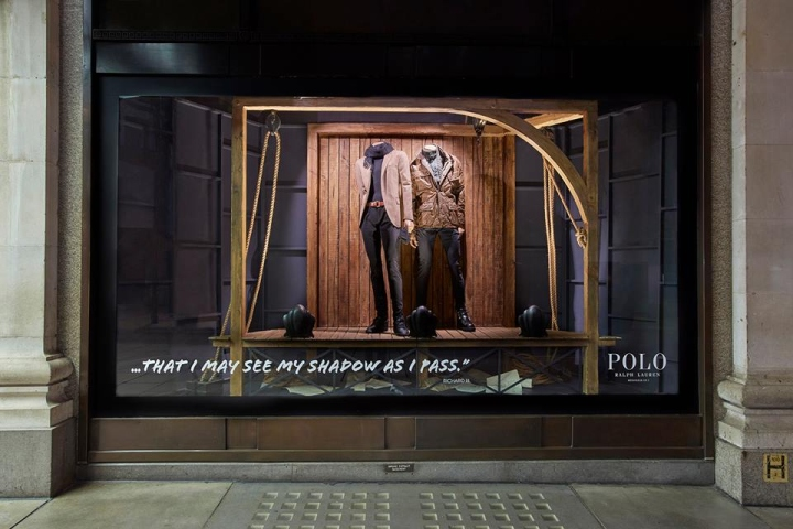 At Polo Ralph Lauren Uk Harlequin Windows By Selfridges DesignLondon – HWe92IDEY