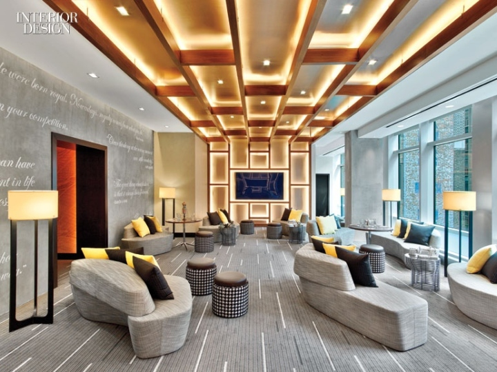 Renaissance new york midtown hotel by jeffrey beers for Hotel interior design