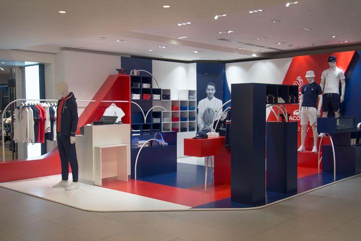 ba2a608e364 Retail campaign for Lacoste store by Bonsoir Paris, Paris – France