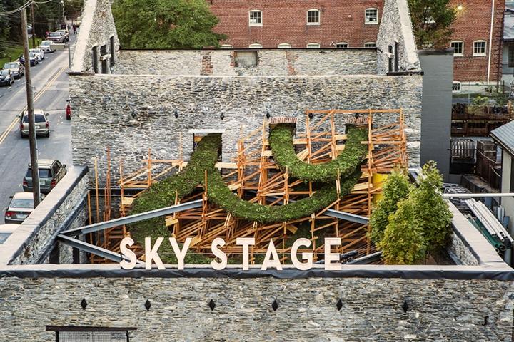 b61cace158b1 »  Sky Stage  by Heather Clark