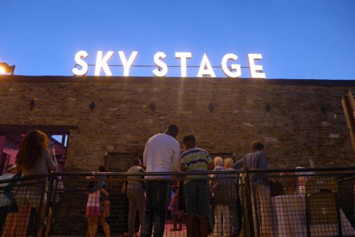 sky stage