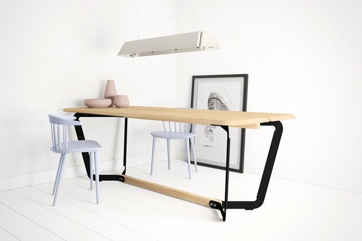 Stringer table by Bas Vellekoop