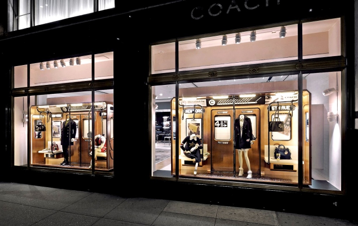 » Subway 2016 windows by Coach & Booma Group, New York City Coach Store Display