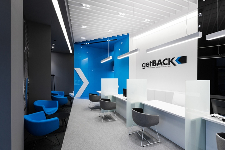 Mokaa Architekci Has Designed The New Offices Of Debt Collection Company GetBACK Located In Warsaw Poland Division Is