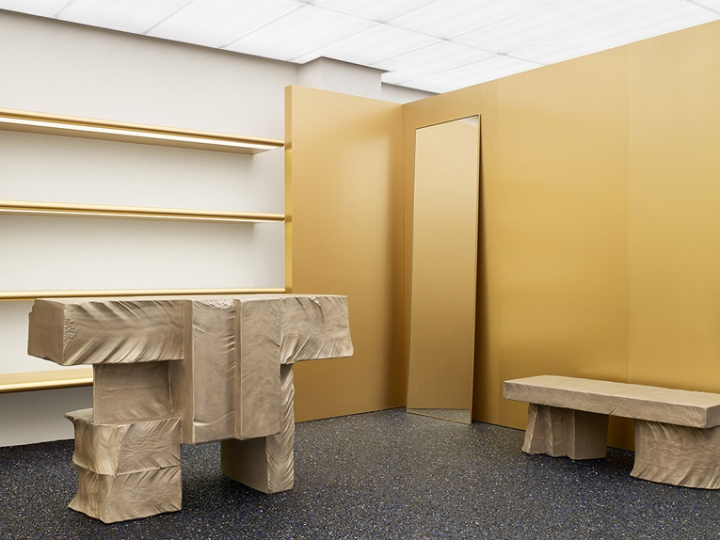 acne studios store by max lamb new york retail design blog. Black Bedroom Furniture Sets. Home Design Ideas