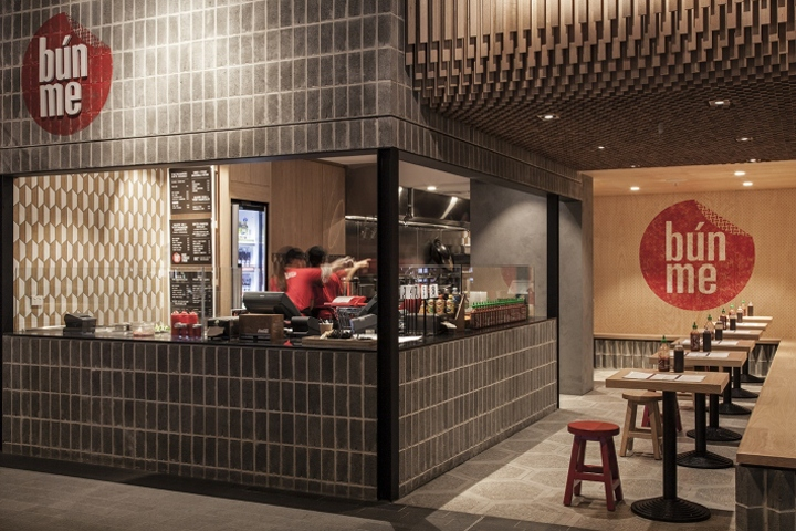 Street food retail design