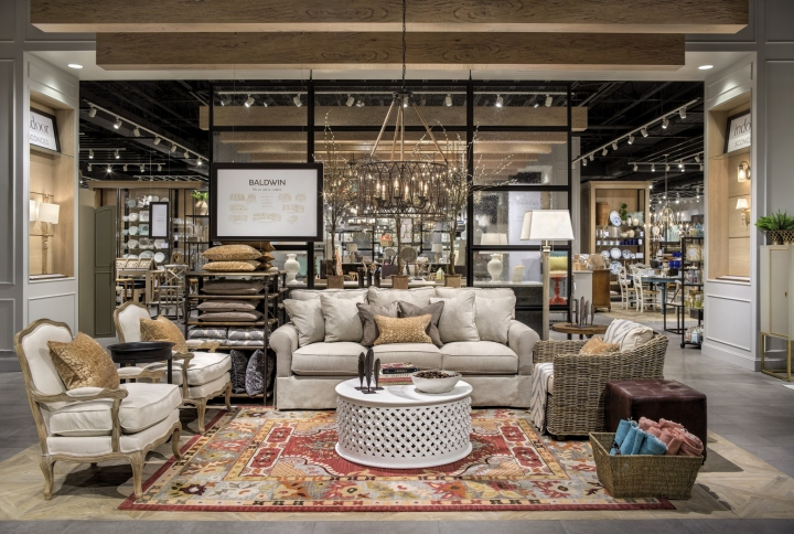 at the heart of the 12400 square foot space is the stores most unique element the brands design studio centrally located the design studio brings all - Ballard Home Design