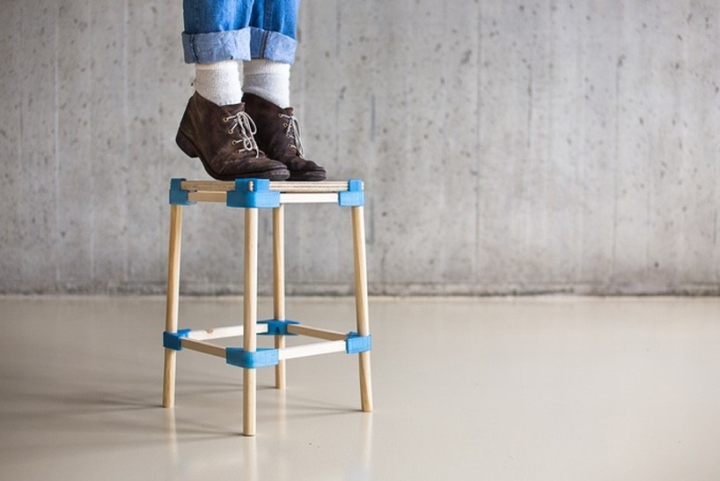 Image result for digital fabrication stool