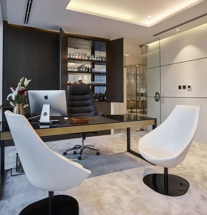 Dinor Real Estate Offices By Swiss Bureau Interior Design Dubai Uae
