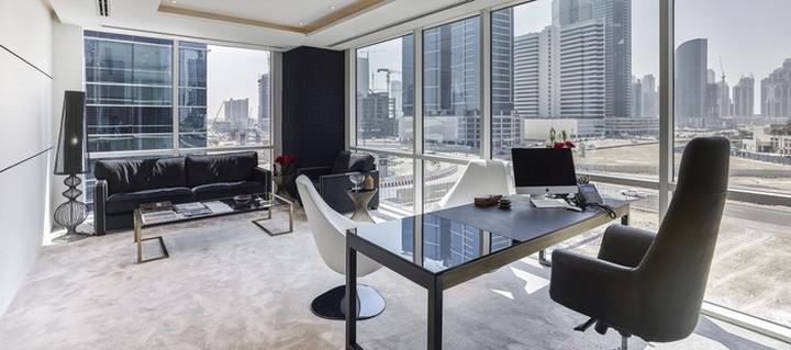 Dinor Real Estate Offices by Swiss Bureau Interior Design Dubai
