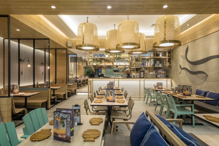 Fish Co 2 Restaurant By Metaphor Interior Architecture Jakarta Indonesia