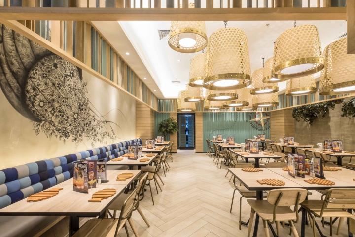 » Fish & Co 2 restaurant by Metaphor Interior Architecture ...