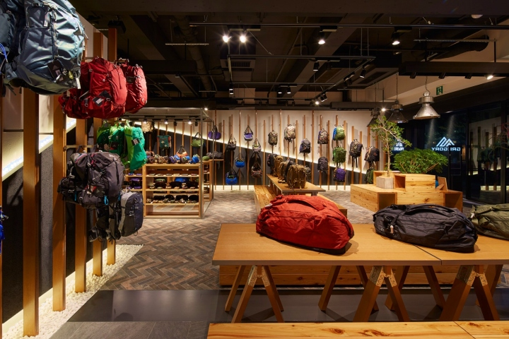 Elevation Of Stone Mountain : Gregory harajyuku store by space co tokyo japan
