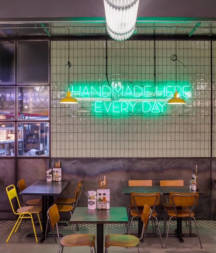 Handmade burger co by brown studio newcastle uk