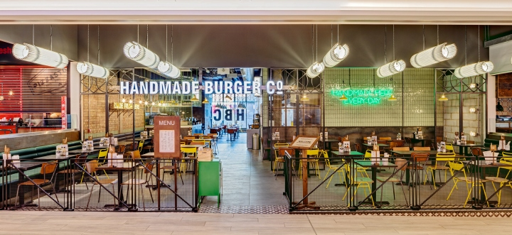 Handmade burger co by brown studio newcastle uk
