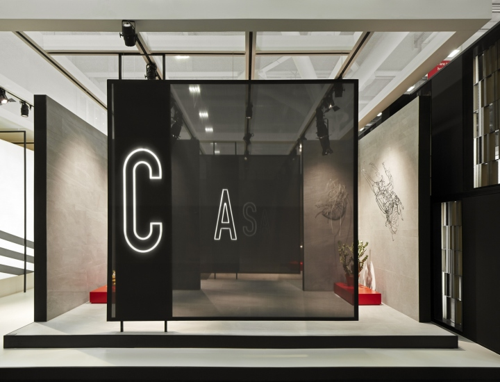 Kale stand at cersaie 2016 by paolo cesaretti bologna for Cersaie bologna 2016