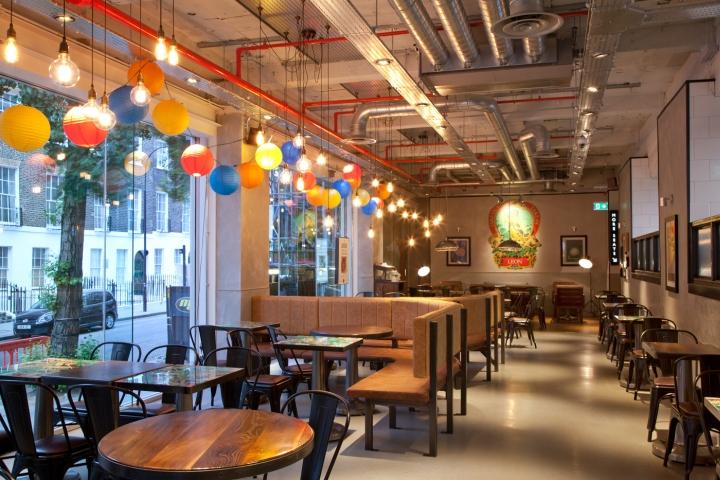 Leon restaurant by rpa group london uk retail design