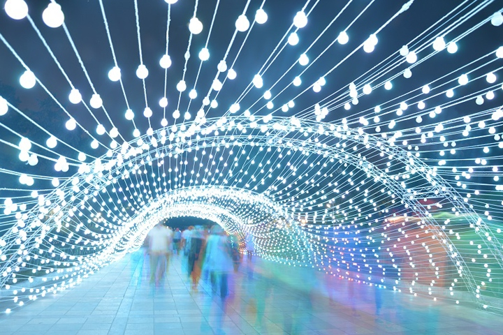Light Installation 187 Retail Design Blog