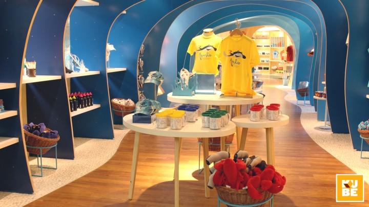 eaa446b994079 Loja do AquaRio gift shop by Kube Arquitetura, Rio de Janeiro – Brazil