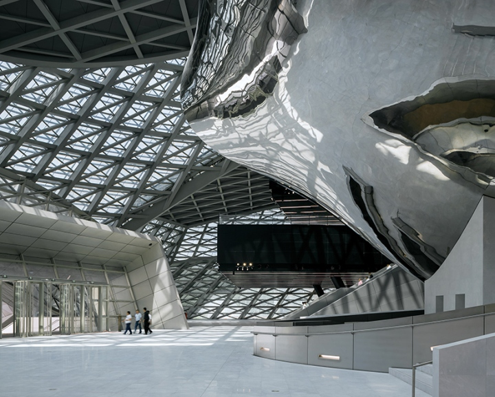 Mocape Museum Of Contemporary Art By Coop Himmelb(l)au in China
