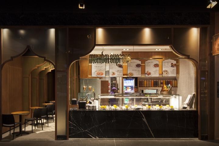Mumbai express indian restaurant by studiomkz sidney for Australian cuisine restaurants sydney