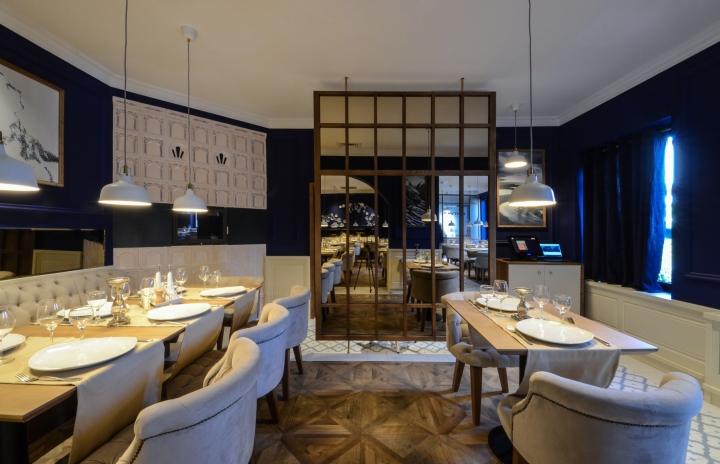 Mythos restaurant by yellow office architecture craiova