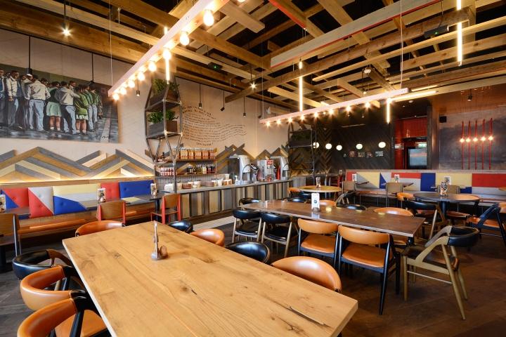 Nando s restaurant by block design crawley uk