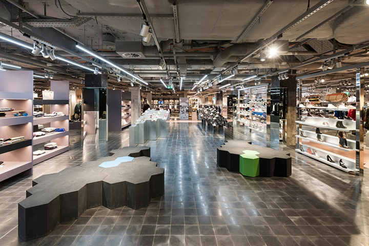 oberpollinger department store renewal by gonzalez haase