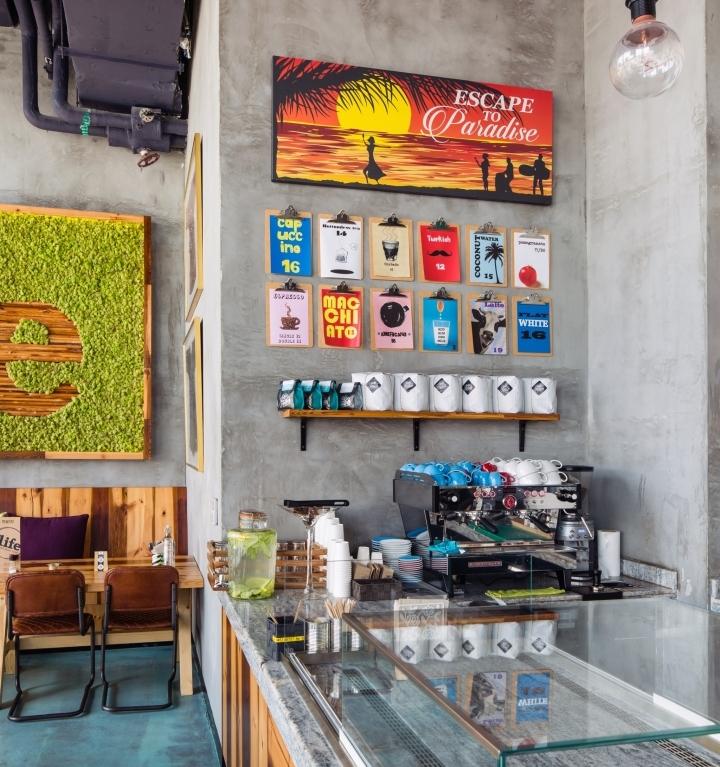 One Life Kitchen & Cafe by Studio EM, Dubai – UAE