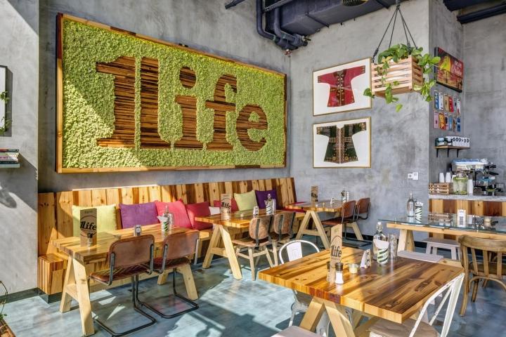One Life Kitchen Cafe By Studio EM Dubai UAE Retail Design Blog