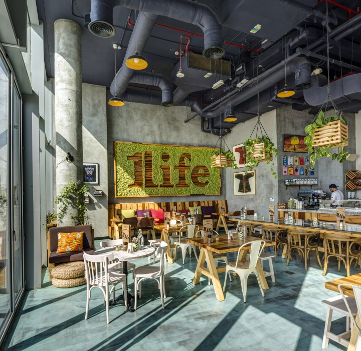 Commercial Kitchen Designer Jobs In Uae: » One Life Kitchen & Cafe By Studio EM, Dubai