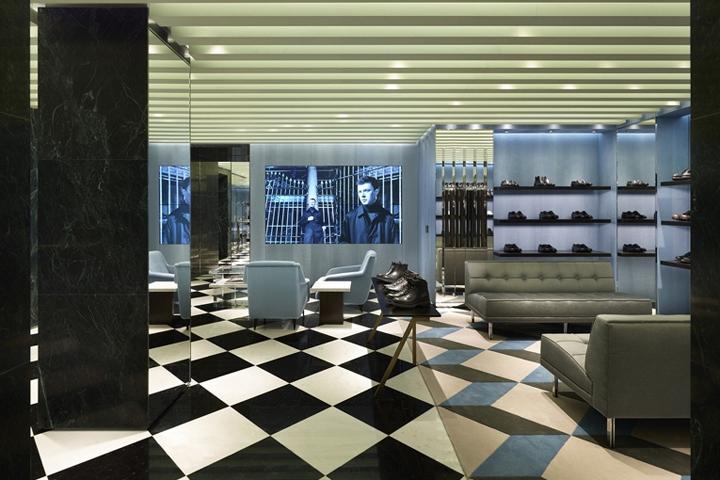 Prada store copenhagen denmark retail design blog - Home prada design ...