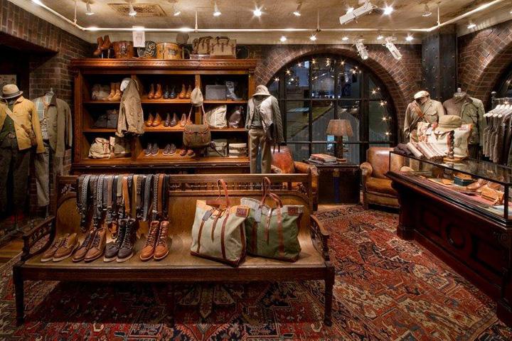 Rrl Store By Mna Tokyo Japan Retail Design Blog