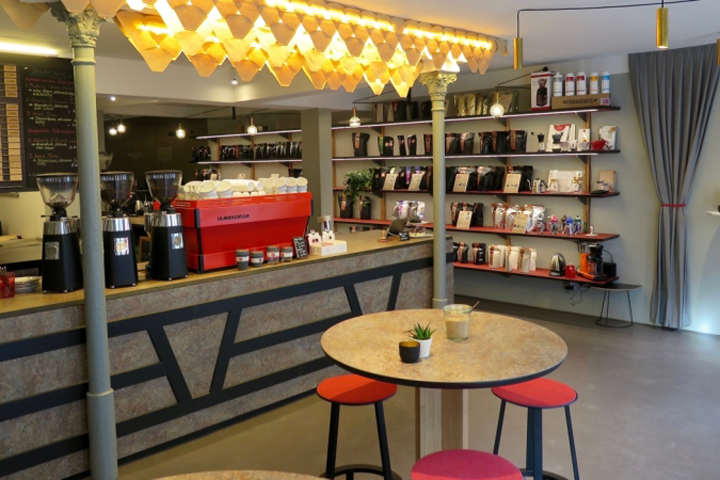Rsttrommel Coffee Shop By Neoos Design Erlangen Germany
